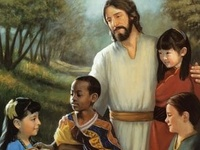 "Jesus said, ""let the children come to me,"""