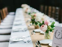 WEDDING/flowers+table