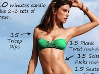 Staying healthy: Workout