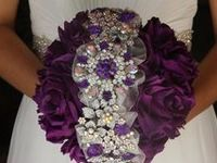 Wedding Brooch & Floral Bouqets