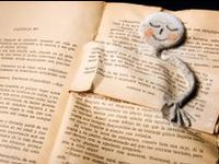 Beautiful creations made from books and their pages.