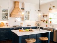 Kitchens On Pinterest Islands Farmhouse Kitchens And Open Shelving