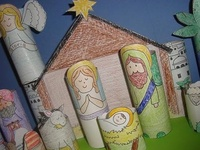 1000+ images about Christmas - Kids Craft on Pinterest | Nativity ...