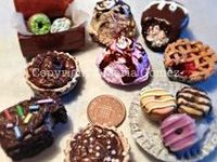 Items made of polymer clay or items that could be made using polymer clay.