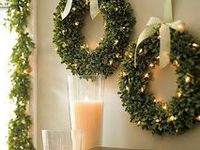 Rustic Christmas with a dash of glitter!