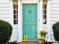 Inspiration for entryways & the doors leading to the unknown. For more inspiring things, visit lifestylefilesblog.com.