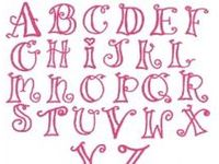 Lettering inspiration for writing with my hand...aka handwriting