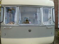 My Vintage Caravan interior board / I have brought a vintage viking fibreline. I want to change the interior so this is my idea board for colours and furnishings etc...