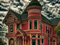 The Victorian houses, furniture, and tastefully macabre adornments I wish to own. Instead they just haunt me.
