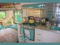 I love all things vintage campers and Glamping!!!