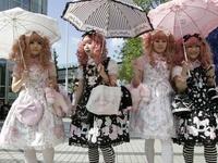 Gothic,Sweet, and  Wa Lolita Fashions