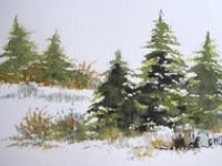 Painting -  TREES AND GRASS