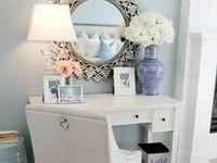 Stylish home accents, furniture, color-schemes