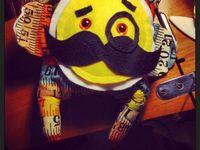 Stuffed DIY toy inspiration - plushie softie feltie