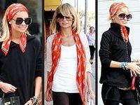 Beauty/Style - McQueen Skull scarf