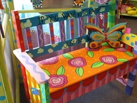 Painted furniture & folk art
