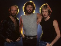 The Bee Gees and Andy