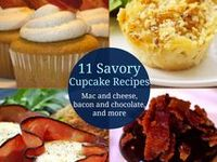 Cupcakes - Savory / Unusual on Pinterest | Cupcake Recipes, Pizza ...