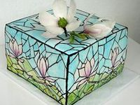Cakes - Handpainted / Stained Glass
