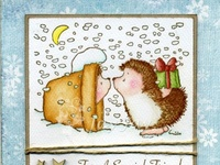 I have an obsession with Penny Black, they are probably my favourite stamps. Especially the hedgies and other small critters! <3 Love love love!!