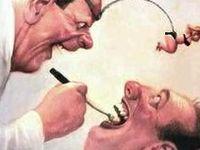 Dental cartoons and comics