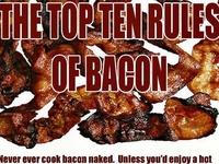 Bacon, Bacon and more bacon