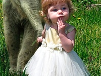 Adorable human babies, animals, and baby animals.  Warning:  contains cuteness beyond belief.