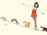 Gatti... Illustrati