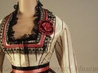 1860's womans fashion