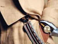 Gentlemanly style and natural materials. Life is better with tweed, linen, and leather.