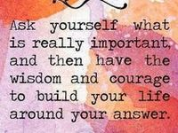 Encouragement, honesty, being silly and all the words in between that may make you think about yourself, your surroundings and those in your life. .