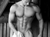 Hot gay hunks, male beautiful body