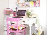 """Also see """"Boards, Clips, Magnets, Tacks.""""  More ideas at """"Craft Room"""" Boards and """"Organized Containers"""" Board"""