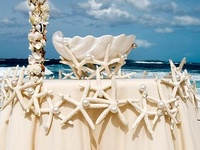 Flower, decor and many more Ideas for Beach weddings