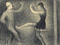 Georges Seurat Drawings