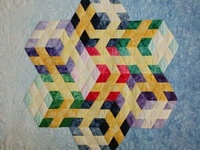 3D quilt blocks and quilts...