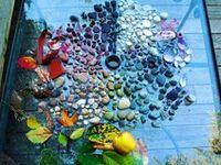 Using nature to create artwork