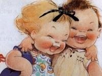 Little Folks - Illustrations - Vintage