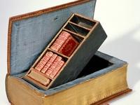 Antique books, bookshelves, book design, bookart, libraries, etc.