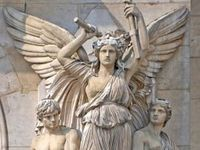Angel statues made by man, found on graveyards, in cities and in museums, to show us the might of the heavenly creatures, to watch over us people. Their wings seems frozen in time, but it only seems so ....