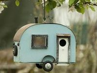 Bird Houses, Bird Feeders etc