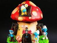 Cakes - Smurfs