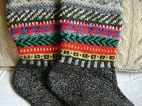 Knitted socks, knee highs, stockings, etc.
