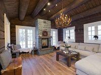 Cabin inspiration ! / Drømmer om en hytte med laft og god takhøyde og vinduer som er store og slipper inn masse lys!