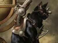 Steampunk Puss!