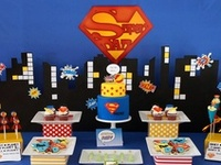 The Superhero party board
