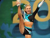Hard work and Cheerleading!!!