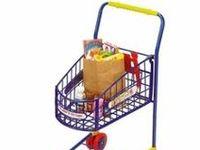 Metal Kids Shopping Cart