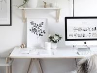 Design your Office / To get the workspace that motivates you to inspire others and yourself.  KaramaByHoda.com