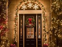 Christmas on pinterest christmas front doors front doors and